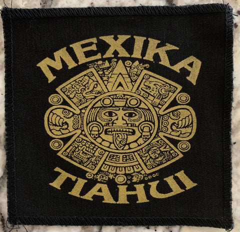 Patch - Aztec Calendar 5 inches