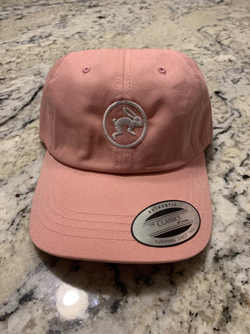 Dad Hats - Tochtli logo light pink
