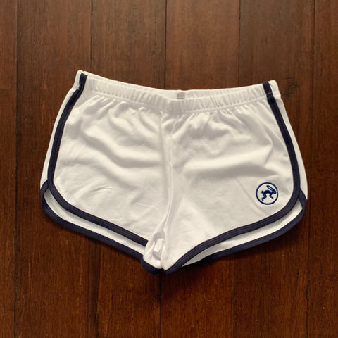 Shorts - Ladie's Fitness Shorts - Tochtli white|blue