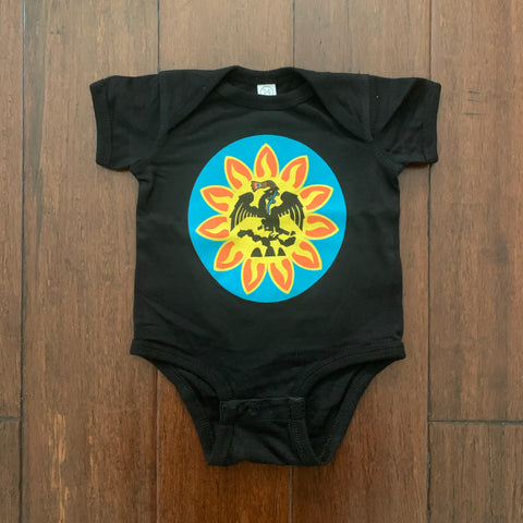 Baby Onesie | Mexica Flag