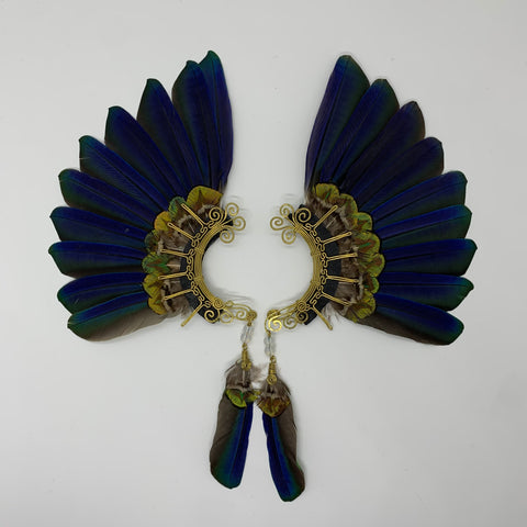 Feather wing Earrings 332