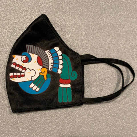 Face mask - hand painted Miquiztli | Skull 3