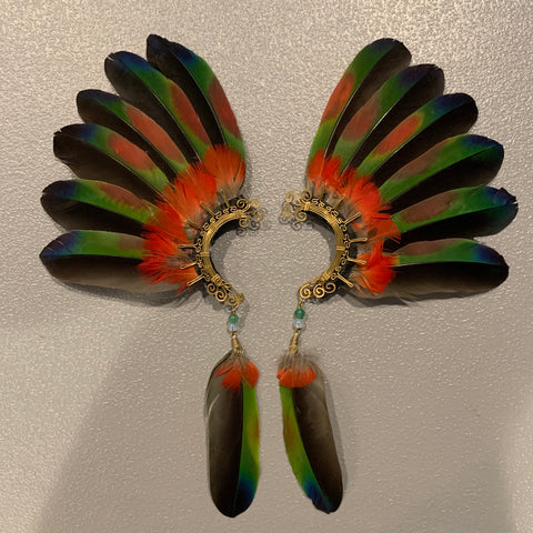 Feather wing Earrings 148