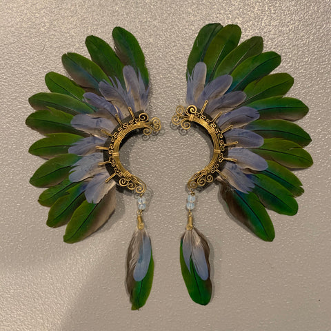 Feather wing Earrings 146