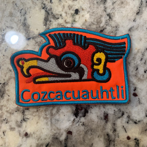 Patch- Cozcacuahtli 3 inches