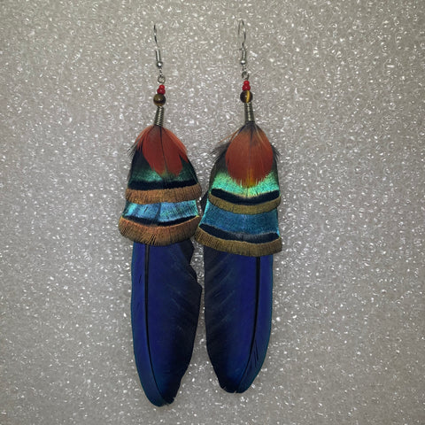 Feather Earrings(Medium) 27
