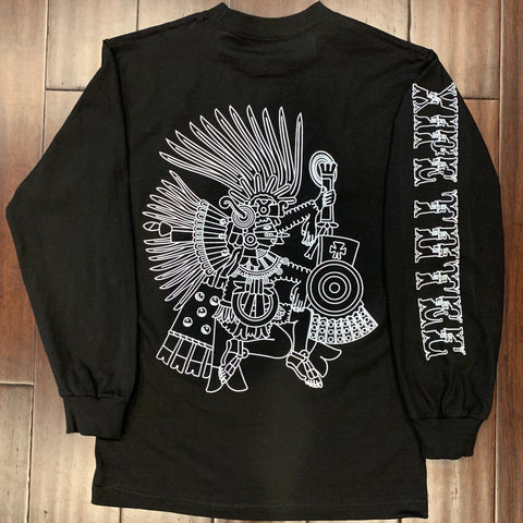 T-Shirt - long Sleeve - Xipe - Black