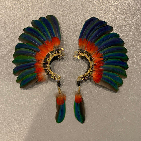 Feather wing Earrings 147