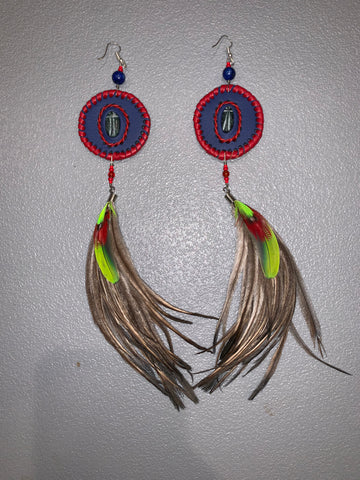 Feather Earrings 27