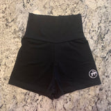 High waist Shorts - Tochtli black