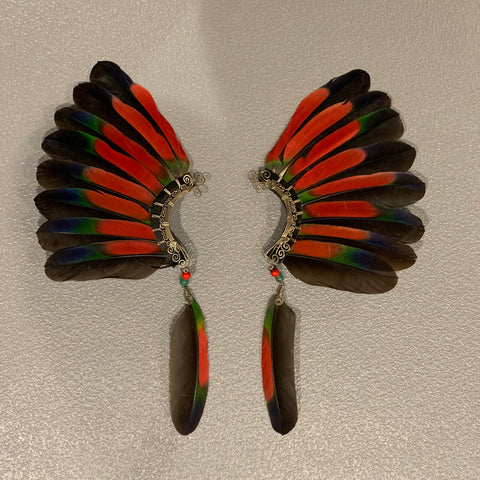 Feather wing Earrings 93