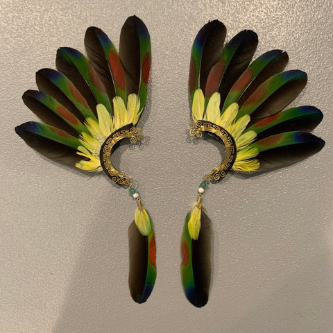 Feather wing Earrings 142