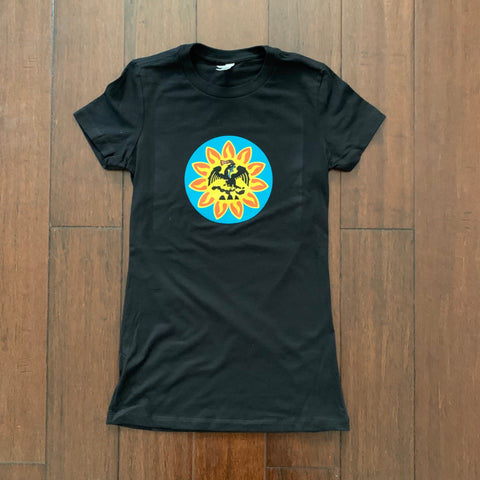 Ladies favorite tee - Mexica Flag Black
