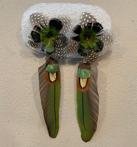 Feather wing Earrings 48