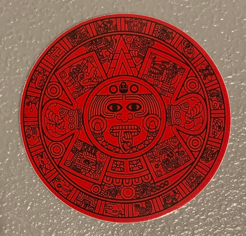 Sticker - Aztec Calendar 3""