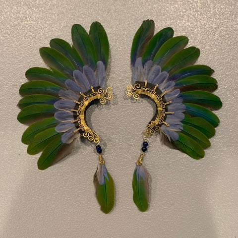 Feather wing Earrings 139