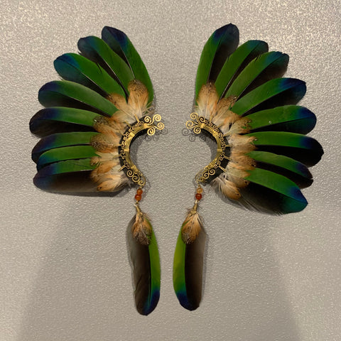 Feather wing Earrings 136