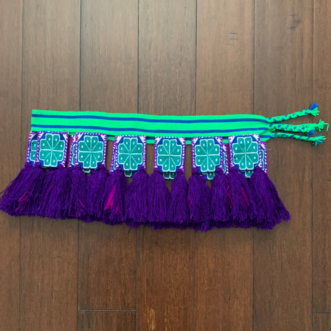 Belt - Huichol peyote belt 3