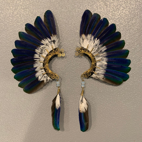 Feather wing Earrings 141