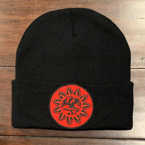 Beanie - Mexica Flag patched
