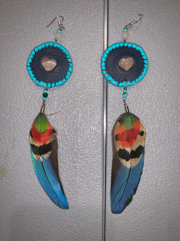 Feather Earrings 34