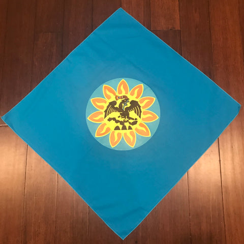 "Bandana - Mexica Flag - 27"" x 27"""