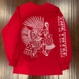 T-Shirt - long Sleeve - Xipe - Red