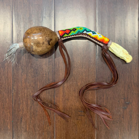Aztec Dance Rattle 14