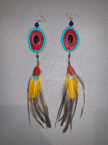 Feather Earrings 23