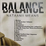 CD - Nataanii Means - Balance