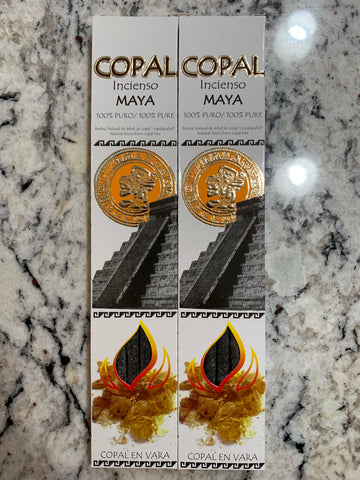 2 Copal Inscence boxes