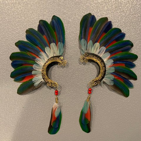 Feather wing Earrings 145