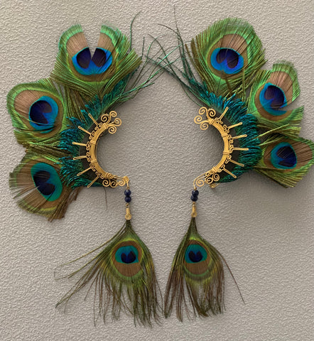 Feather wing Earrings 201