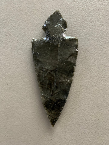 Obsidian - spear head w notch