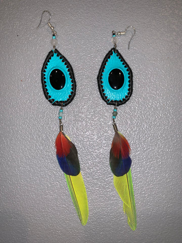 Feather Earrings 35