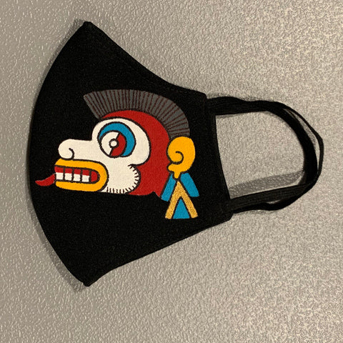 Face mask - hand painted Ozomatli | Monkey 2