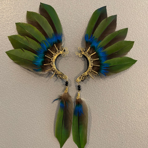 Feather wing Earrings 267
