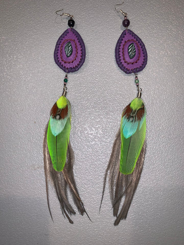 Feather Earrings 29