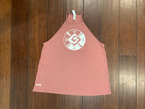 Tank Top - Ladies Flowy High Neck - Hunab ku mohave