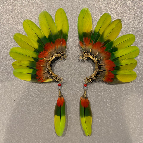 Feather wing Earrings 138