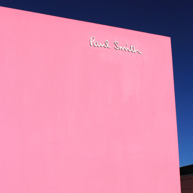 Paul Smith Pink Wall Melrose Avenue