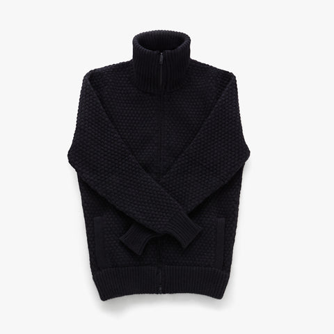 Double Eleven Mens Zip Up Cardigan Sweater