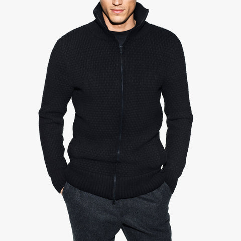 Double Eleven Mens Cardigan Sweater