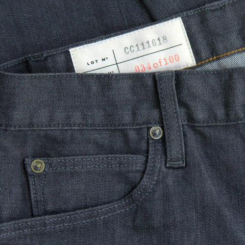 Double Eleven Slim Charcoal Grey Jean Made in USA