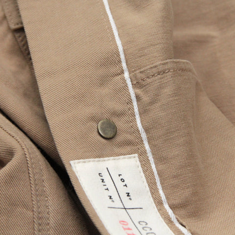 Double Eleven Khaki Selvedge Twill Denim Jacket Made in USA