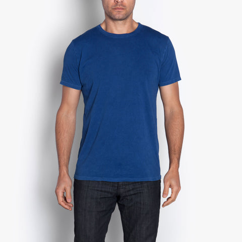 Double Eleven Plant Dyed Indigo T-Shirt Made in USA