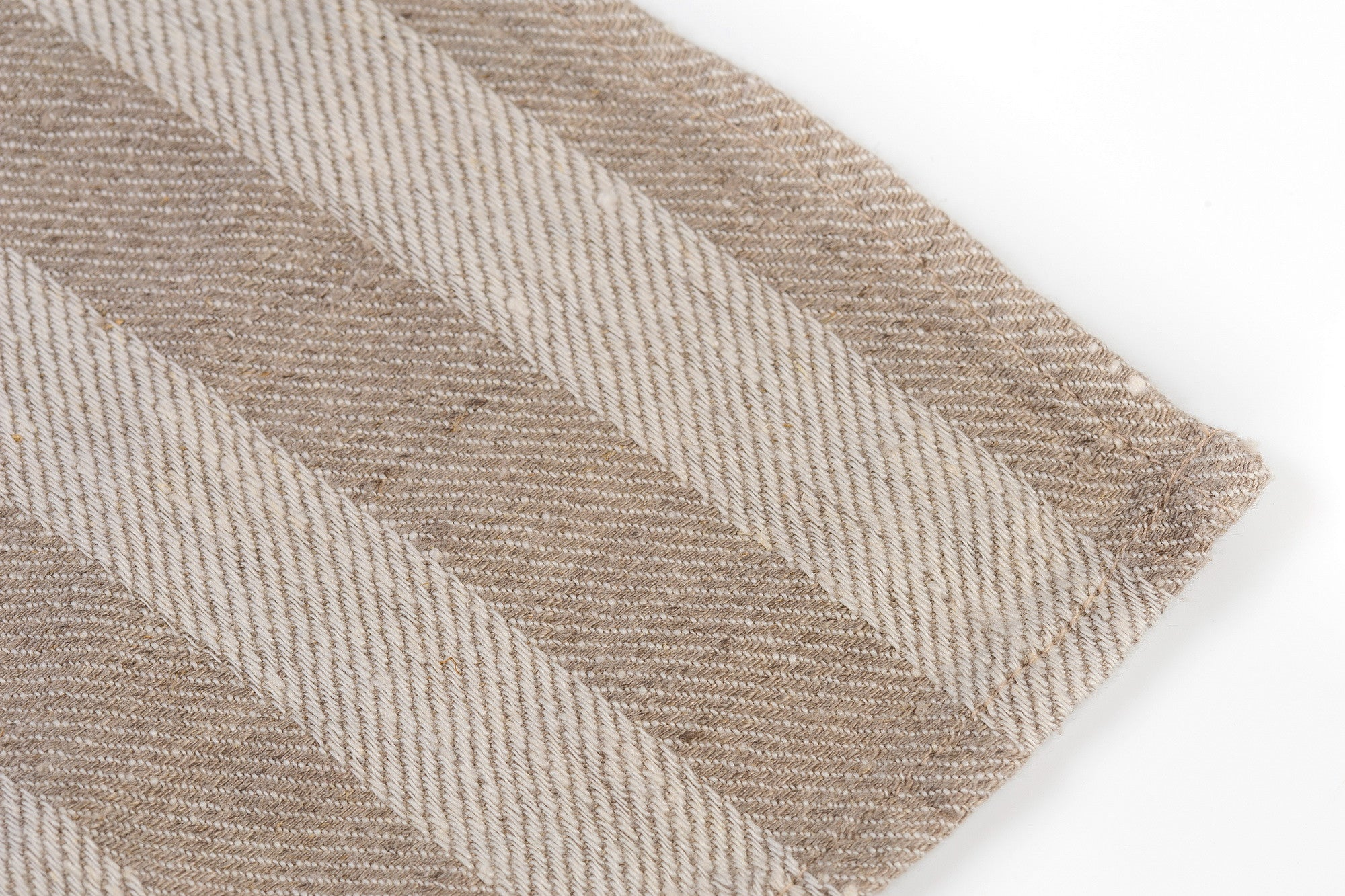 BLESS LINEN Jacquard Striped Pure Linen Flax Bath Towel, Grey/White - BLESS LINEN pure linen towels and blankets - 2