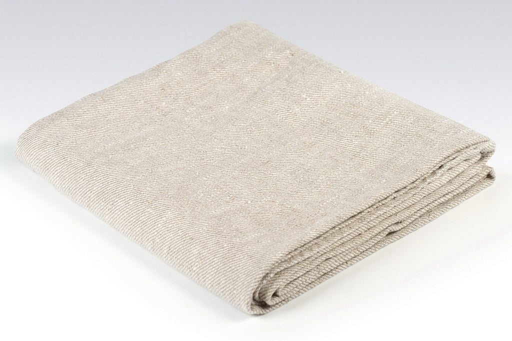 BLESS LINEN 100% Linen Bath Towel Huckaback