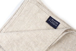 100% Linen Bath Hand Towel Set Huckaback BLESS LINEN