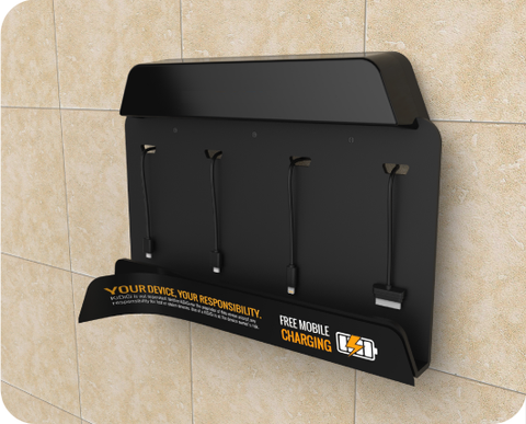 Advertcharger Mobile Phone And Tablet Charging Stations